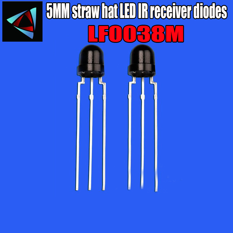 10PCS VS1838 VS1838B TL1838 Infrared Receiver Head Universal IR Receiver