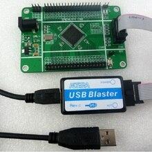 ALTERA MAX II EPM240 CPLD płyta główna i usb blaster FPGA programator dla EPM240T100C5N JTAG PLD zestaw deweloperski z przewodem JTAG