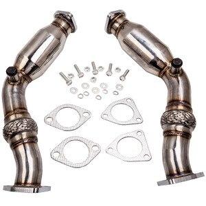Image 1 - สำหรับ Infiniti Exhaust Downpipe ท่อ Fit Infiniti G35 FX35สำหรับ Nissan 350Z VQ35DE 2003 2006