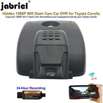 Jabriel for 2016 2017 2018 2019 2020 Toyota corolla Hidden Wifi 1080P Dash Camera Car Dvr Car Camera android IOS 24H recorder