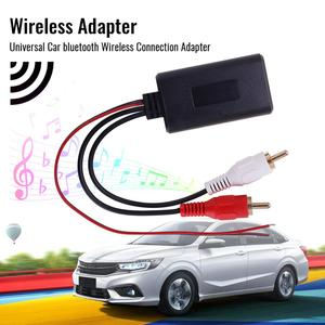 Universal Car bluetooth Wireless Connection Adapter for Stereo with 2 RCA AUX IN Music Audio Input Wireless Cable for Truck Auto