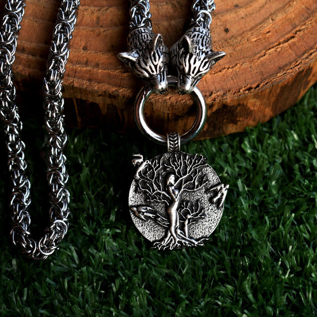 TREE OF LIFE VIKINGS PAGAN NECKLACE