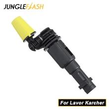 JUNGLEFLASH 360 ° Gimbaled 스핀 노즐 압력 와셔 스프레이 노즐 팁 Lavor Karcher K2 K7 트리거 건을위한 제트 워터 건 랜스