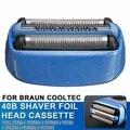Сменная бритва из фольги, Кассетная головка для Braun для CoolTec CT2s CT2cc CT3cc CT4s CT4cc CT5cc CT6cc, бритва