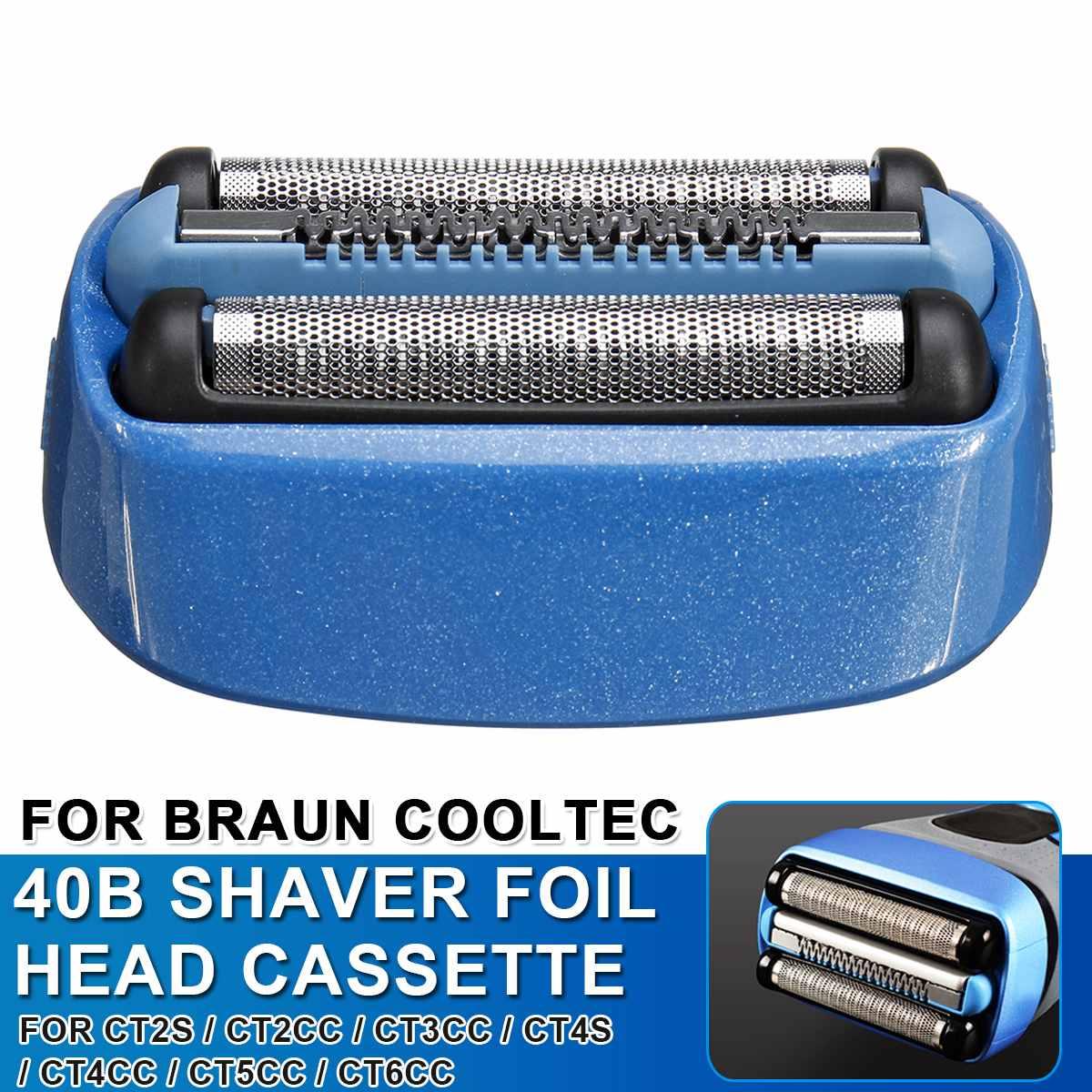 Replacement Shaver Foil Cassette Head For Braun For CoolTec CT2s CT2cc CT3cc CT4s CT4cc CT5cc CT6cc Shavers