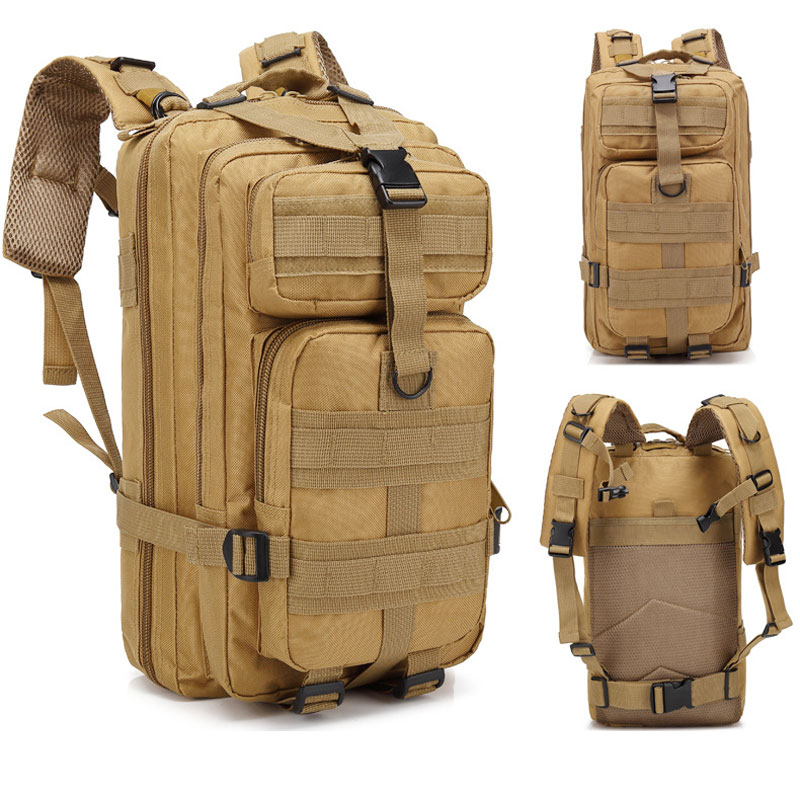 Outdoor Sport Bags Waterproof Climbing Hiking Military Tactical Backpack Bag Camping Mountaineering Backpack Camouflage AELNN571