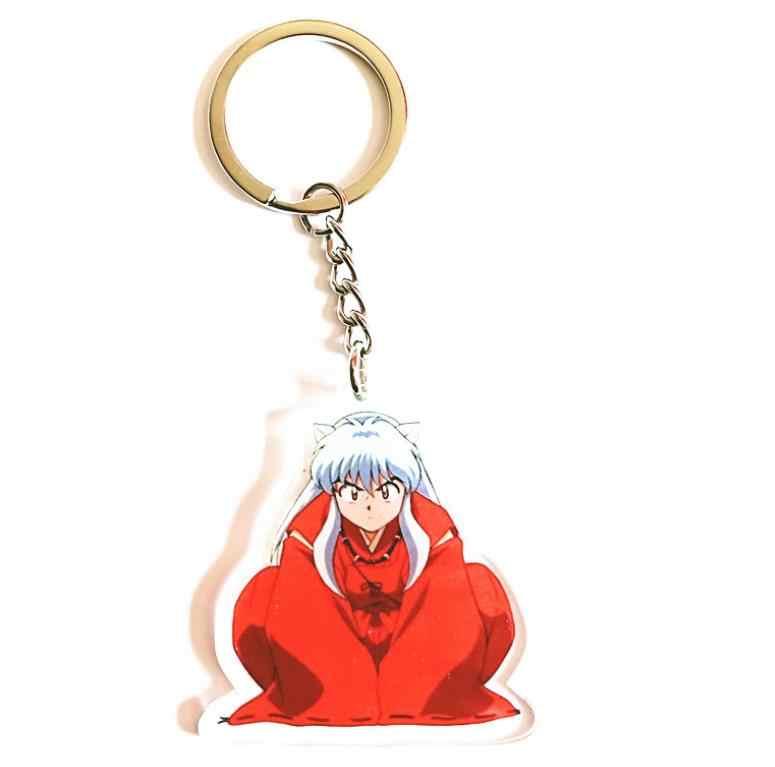 1pc nowy InuYasha Sesshoumaru Anime akrylowe kształty brelok akcesoria zabawki do kolekcjonowania Cosplay brelok etui wisiorek prezent