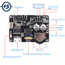 BLE 5.0 Bluetooth Receiver Audio Stereo Decoder Module DC 3.7 V-24 V voor DIY Voltage Volume Verstelbare Speaker versterker Controler(China)