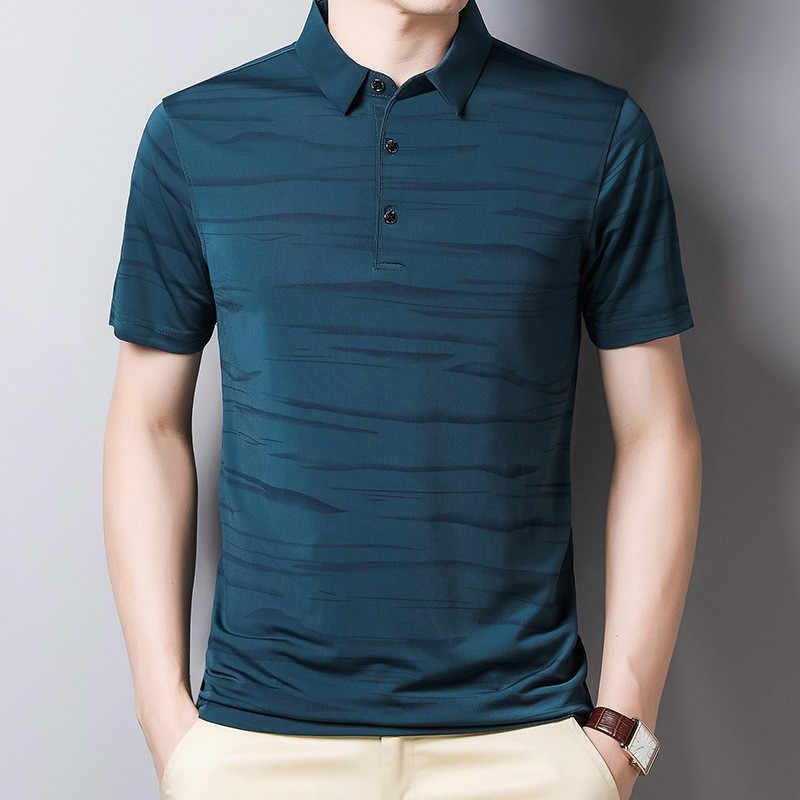 Ymwmhu Polo Fino Para Hombre Camiseta Ajustada Ropa De Calle Ropa De Oficina Tops Coreanos Polo Aliexpress