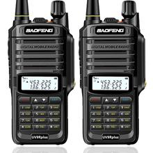 2 pièces Baofeng UV XR 10W haute puissance IP67 étanche bidirectionnel Radio double bande portable talkie walkie pour la chasse randonnée pleuvoir