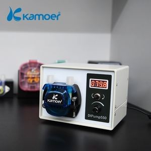 Image 1 - Kamoer High Flow 24V DC DIP Intelligent Power Off Memory Peristaltic Pump With Silicone Tube For Liquid Dispenser Food Industry