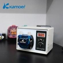 Kamoer Hoge Flow 24V Dc Dip Intelligente Power Off Geheugen Peristaltische Pomp Met Siliconen Buis Voor Vloeibare Dispenser Voedsel industrie