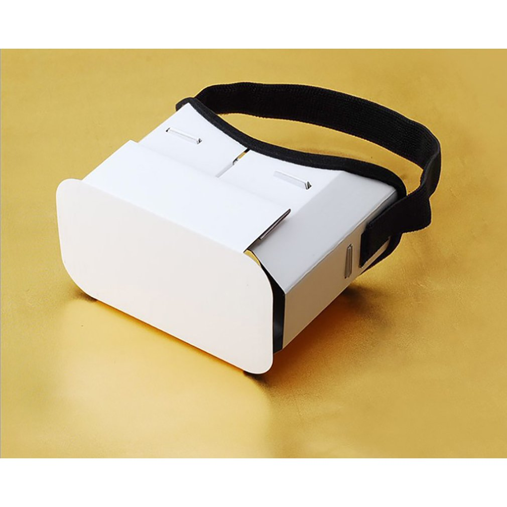 Diy Portable Virtual Reality Glasses Google Cardboard 3D Glasses For 4 Inch-6 Inch Smart Phone
