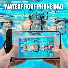IP68 Universal Waterproof Case For iPhone XS Max XR X 8 7 6 Plus Samsung S10 S9 S8 Cover Water proof Bag Mobile Phone Pouch Case(China)