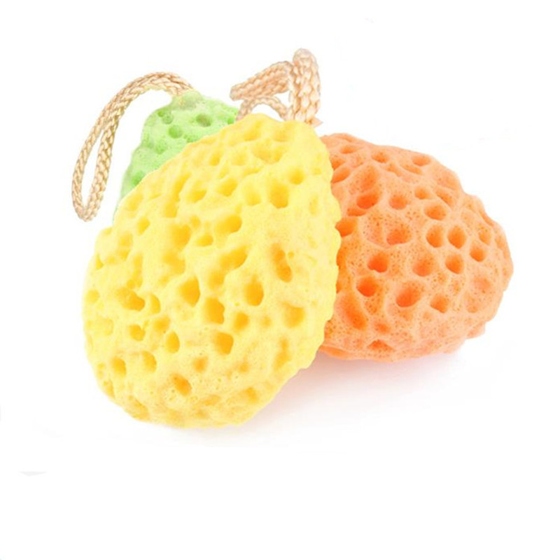 Bathing Accessory Face Cleaning Sponge Bath Scrubber Shower Spa Sponge Body Cleaning Scrub Bath Ball For Baby Adult Bath
