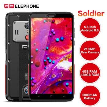 Original Elephone soldado 4G Smartphone 5,5