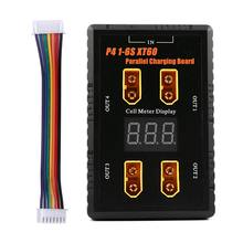 P4 1 6s xt60/xt30 разъем параллельная плата для зарядки 4 канала
