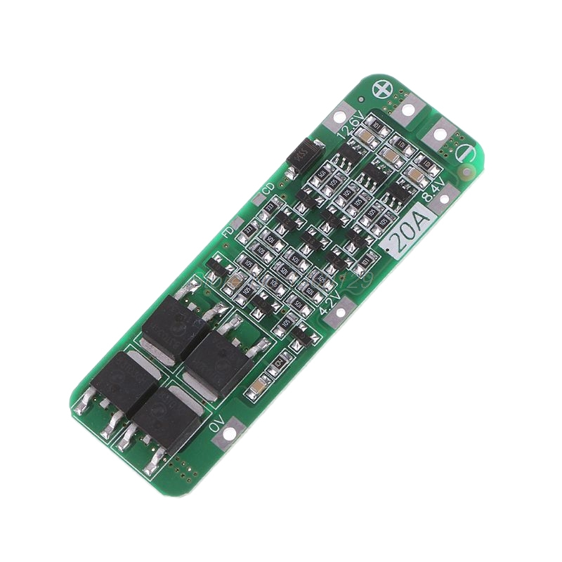 3S 20A Li-Ion Lithium Battery 18650 Charger PCB BMS Protection Board 12.6V Cell 64X20X3.4Mm Module S08