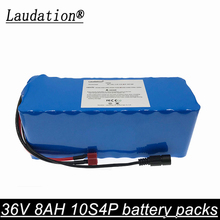 laudation 36V 8AH electric bicycle battery pack 18650 Li-Ion Battery 500W High Power and Capacity 42V Motorcycle Scooter+BMS 36v 34 8ah electric bicycle customized triangle li ion battery for ncr18650pf cell with free bms and 5a charger