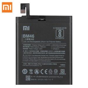 Image 4 - XiaoMi המקורי החלפת סוללה BM46 עבור Xiaomi Redmi הערה 3 פרו Redrice Note3 100% חדש אותנטי טלפון סוללה 4050mAh