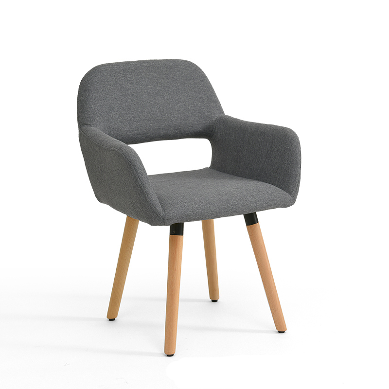 Building Block Tribe Solid Wood Chair Back Desk Computer Chair Nordic Stool Simple Modern Chair Casual Home Dining Chair