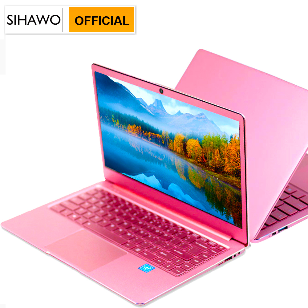 Laptop 14 Inch Windows 10 Intel J3455 Quad Core 8GB RAM 1TGB SSD ROM Notebook 1920x1080 FHD Display Ultrabook with Full Keyboard image
