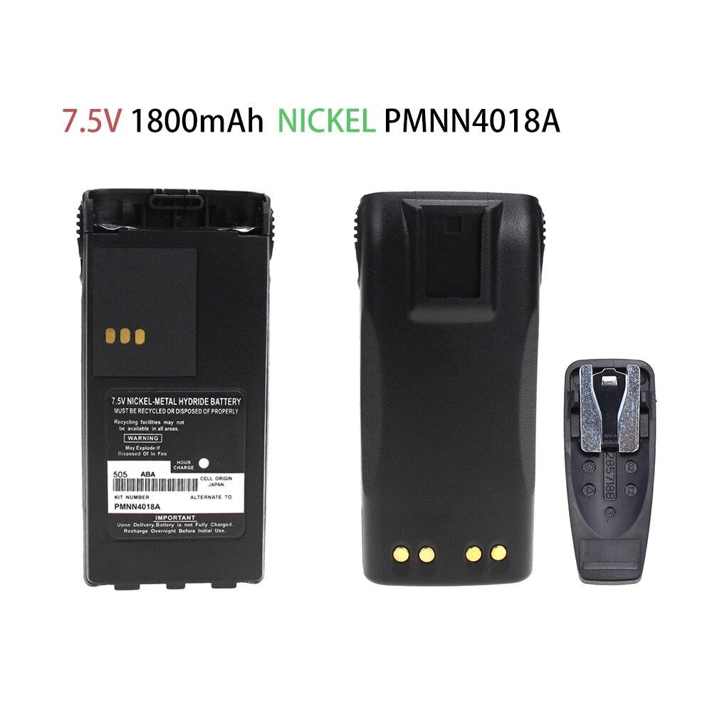PMNN4018 1800mAh Ni-MH Battery For Motorola CT150 CT250 CT450 CT450LS GP88S P040 P080 P308 PRO3150 Portable Radios