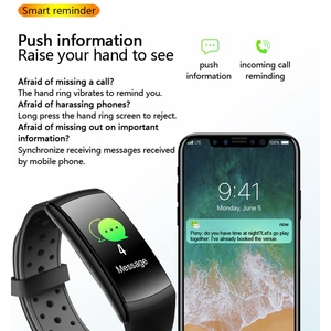 Image 5 - Cobrafly Q8 Smart Watch Men Women Heart Rate Monitor IP68 Waterproof Band Fitness Tracker Watches for Xiaomi Huawei Apple Phone