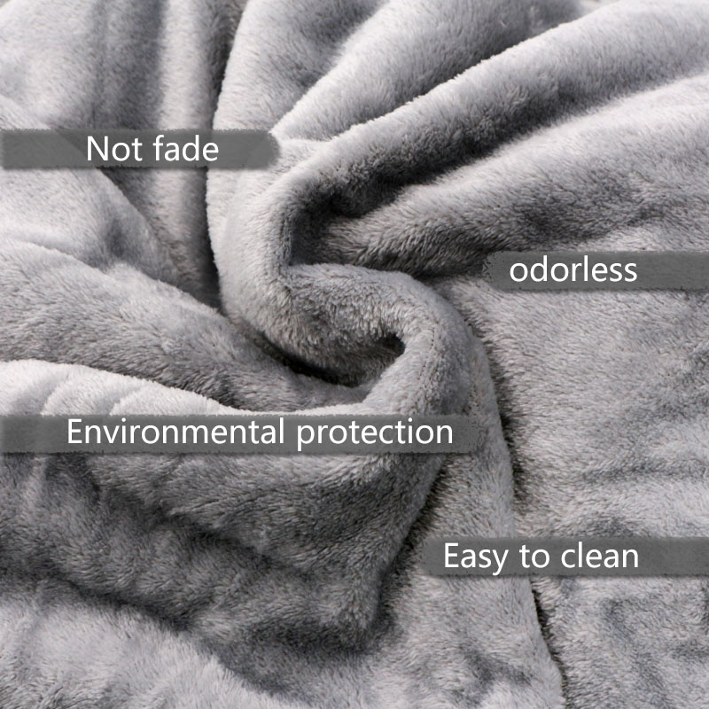 Light Thin  Mechanical Wash flannel Blanket Plaids super warm soft blankets throw on Sofa/Bed/ Travel patchwork solid Bedspread-5