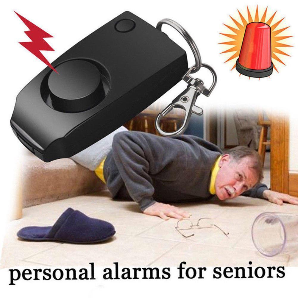 Runner Personal Alarm Self Defense SOS Emergency Personal Running Loud Ring For Night Alarm Safety Key 120dB Scream Wrist I6Z2