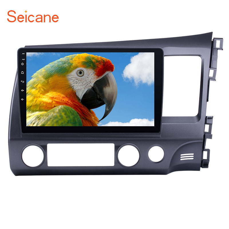 Seicane <font><b>Android</b></font> 9.0 Auto <font><b>Stereo</b></font> GPS Multimedia Player für 2006-<font><b>2008</b></font> 2009 2010 2011 <font><b>Honda</b></font> <font><b>CIVIC</b></font> RHD Kapazitiven Bildschirm WIFI image