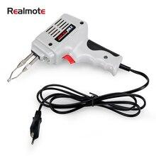 100w 220v Eu Plug Electric Soldering Iron Kit Fast Welding Gun Set