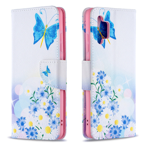 Image 5 - Painted Leather Flip Case For Samsung Galaxy A32 A52 A72 A12 A02 A02S 5G A42 A21 A21S A31 A51 A71 Soft Phone Cover Wallet Coque