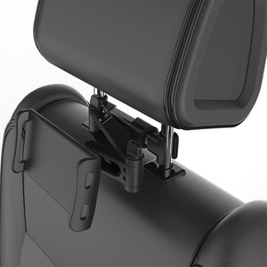 Image 2 - Telescopic Car Rear Pillow Phone Holder Tablet Car Stand Seat Rear Headrest Mounting Bracket for Phone Tablet 4 11 Inch