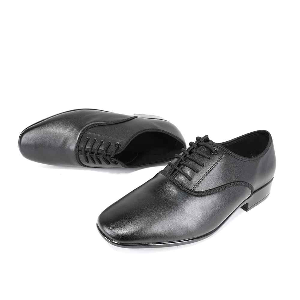 Hiposeus tamanho grande homem sapatos de dança ballroom latin sapatos menino moderno tango jazz desempenho practise sapatos couro genuíno