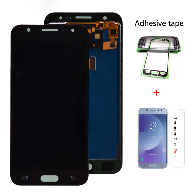 Für <font><b>Samsung</b></font> GALAXY J5 J500 J500F J500FN J500M <font><b>J500H</b></font> 2015 <font><b>LCD</b></font> Display Mit Touch Screen Digitizer Montage Einstellen Helligkeit image
