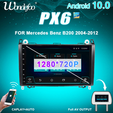 "9 ""PX6 1 DIN אנדרואיד 10 רכב רדיו עבור מרצדס בנץ אצן B200 b class W245 B170 W209 w169 A180 A160 W906 אוטומטי אודיו סטריאו"