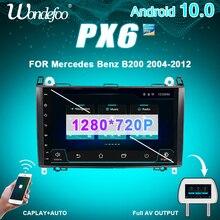"""9 """"PX6 1 DIN Android 10 autoradio pour Mercedes Benz Sprinter B200 classe B W245 B170 W209 W169 A180 A160 W906 auto audio stéréo"""