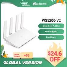 HUAWEI – routeur wi-fi sans fil WS5200 V2, 1200Mbps, double bande, 2.4GHz, 5GHz, Port GE, contrôle via application, installation facile, Version internationale