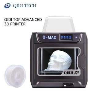 Image 1 - QIDI 기술 3D 프린터 X MAX PLA TPU PC PETG 나일론 300*250*300 mm와 대형 산업용 WiFi 고정밀 인쇄