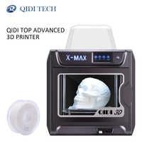 QIDI TECH 3D imprimante X-MAX de grande taille industrielle WiFi haute précision impression avec PLA TPU PC PETG Nylon 300*250*300mm