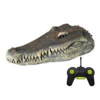 Flytec v005 v002 rc barco 2.4g simulação cabeça de crocodilo rc barco de corrida água brinquedos controle remoto para adultos piscinas cabeça brinquedo spoof Barcos RC Brinquedos e hobbies -