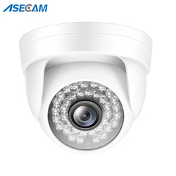 3MP IP Camera H.265 Onvif POE Small Indoor White Mini Dome CCTV P2P Xmeye Wide Angle 1080p Video Surveillance