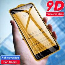 9D All Glue Tempered Glass for Xiaomi Mi 10 Pro Lite Note 10 Lite Full Coverage Phone Glass For Redmi Note 8 9S Pro Max K30 Pro