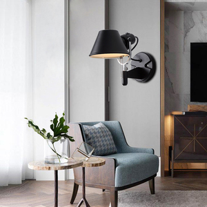 Image 3 - Artpad אמריקאי מודרני נדנדה ארוך זרוע LED גמיש קיר אורות AC90 260V כסף/שחור עין הגנת שינה קיר ליד מיטת מנורה