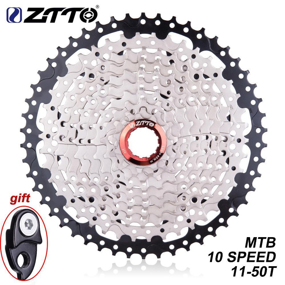 Kuulee ZTTO 10 Speed 11 50T MTB Mountain Bike Cassette Freewheel Bicycle Parts