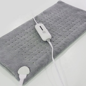 Image 2 - Extra Large 12*24 100   120V 85W Washable Electric Blanket Heating Pad 110V for Back Pain Relief Auto Off Body Warmer US Plug
