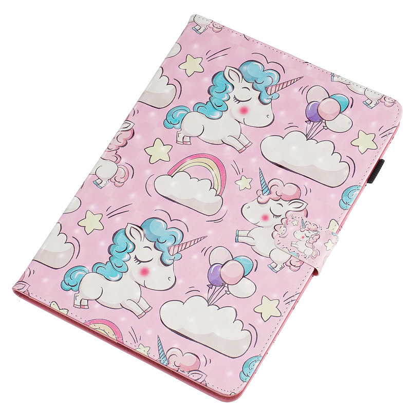 For iPad 10 2 2019 Smart Case for Apple iPad 7th Generation A2200 A2232 Cover Funda