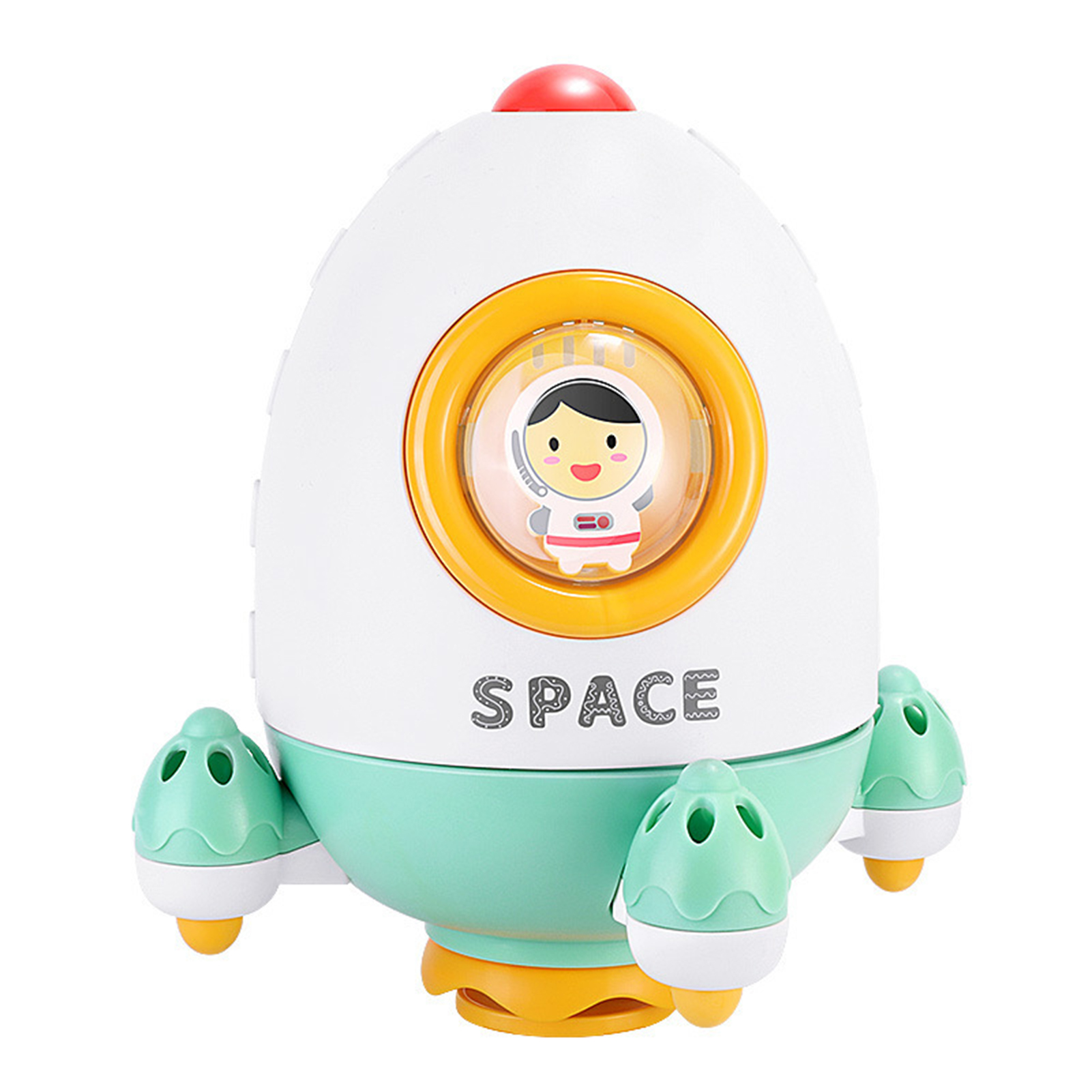Baby Bath Toys Rocket Rotate Spray Water Sprinkler Toys Funny Educational Bathroom Shower Water Toy For Children Toddler