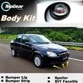 Für Chevrolet Klassische Lip Lippen/Top Getriebe Shop Spoiler Für Auto Tuning/TOPGEAR Körper Kit + Streifen